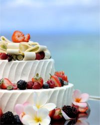 This gorgeous cake is taking a cue from the summer's berry bounty.