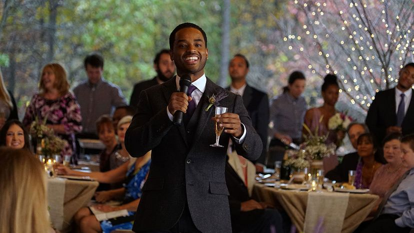 Larenz Tate, wedding toast