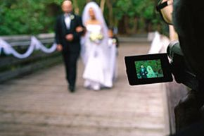 A wedding video can capture the movement and sounds of your wedding memories.