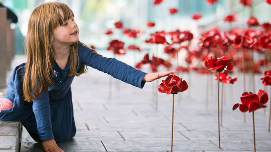Moving Poppy Sculpture Continues to Honor WWI Soldiers