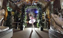 """The Sugar Plum Fairy is a character from Tchaikovsky's Christmas ballet """"The Nutcracker,"""" portrayed here by Claire Fowler."""