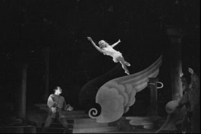 Audiences were amazed when performers made huge leaps over objects.