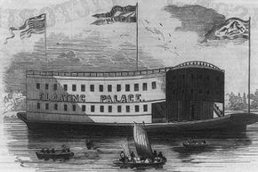 The Floating Circus Palace provided ease of shipment and a permanent location for the show.
