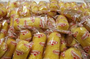 Considering the infamous shelf-life of Twinkies, you could buy your groceries for several years' worth of stuffing at once.