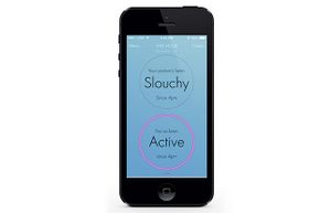 The Lumo Lift app functions acts like your mother, reminding you to sit up straight.