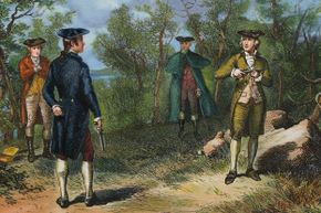Twenty-four years after what's perhaps America's most famous duel, Congress contemplated banning the practice.