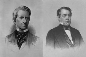 New York Sen. William Seward (left) and Ohio Rep. Thomas Corwin introduced the Corwin Amendment, an effort to protect the institution of slavery ... forever.