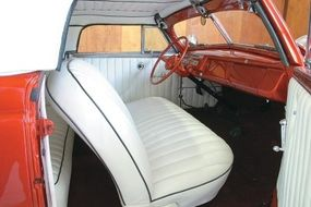 Butler Rugard took home a customized Westergard Mercury finished with a rolled and pleated interior.