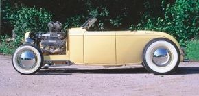 Bill Hook started building Wetzel's Roadster with Valley Custom. The 1932 Ford roadster was finished by Dr. Leland Wetzel and Leonard Carr. See more hot rod pictures.