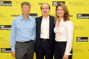 The Bill and Melinda Gates Foundation charitable trust has assets of more than $30 billion.