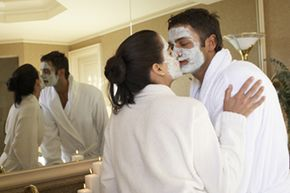 Beautiful Skin Image Gallery You got angel dusted! No you! Kiss me! See more pictures of ways to get beautiful skin.