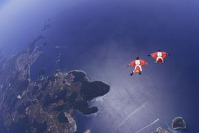 The effects of gravity certainly feel more real in free fall.