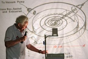 Sure, the Standard Model is nice, but physicists aren't content to leave it at that. Here, Leon Lederman (he of the 1986 Nobel Prize in physics) addresses the World Summit on Physics Beyond the Standard Model in 2006.