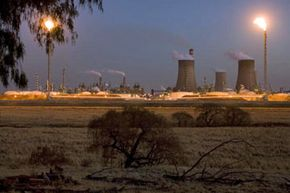 This coal-to-liquid fuel plant in South Africa is the largest synthetic fuels facility in the world. It's also the single largest emitter of carbon dioxide on the planet.