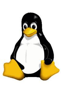 The Linux penguin is the mascot for a popular open-source operating system kernel.