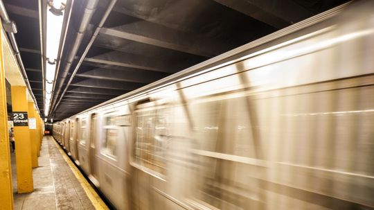 What would happen if you fired a gun on a train moving as fast as a bullet?