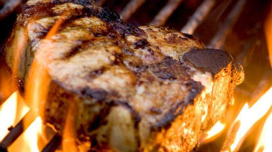 What's the quickest way to cook pork chops?