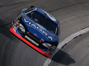 Viagra was the first erectile dysfunction drug to sponsor a NASCAR team. See more pictures of NASCAR.