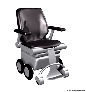 The iBot wheelchair, created by Dean Kamen and being manufactured by Johnson & Johnson, has the ability to handle a wide variety of terrain types, including sand, gravel and 8-inch curbs.