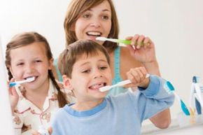 Can the whole family use the same kind of toothbrush?