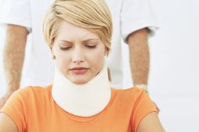 Do you remember when people would walk around with neck braces as a form of whiplash treatment? See more pictures of car safety.