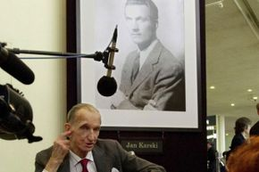 Though Karski's information about the atrocities he had seen initially fell on deaf ears, his tireless efforts to expose the Nazi agenda opened the world's eyes to the Holocaust.