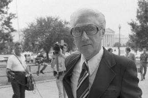Former FBI official Mark Felt arriving at federal court in 1980.