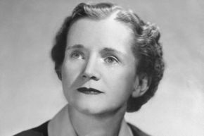 """Biologist Rachel Carson ushered in a new era of environmental concern with her book """"Silent Spring."""""""