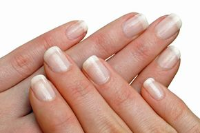 Perfect nails are hard to come by, but a few white marks are nothing to worry about.