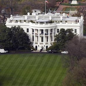 The White House isn't just a presidential mansion -- it's a base of operations for the executive branch of the U.S. government. See more pictures of Washington D.C.
