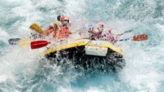 Everything I Need to Know I Learned ... White-water Rafting
