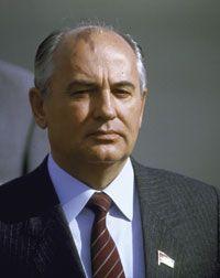 Soviet Premier Mikhail Gorbachev in 1986