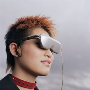 Virtual Reality Image Gallery Head-mounted displays are often a key feature of virtual reality systems, creating a realistic visual environment for the wearer. See more virtual reality pictures.