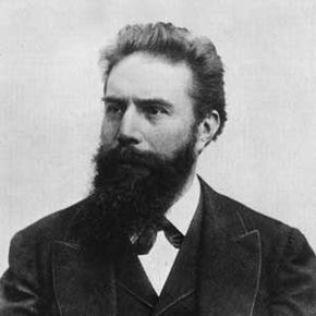 Portrait of Wilhelm Conrad Röntgen, German physicist and discoverer of the X-ray, in 1895. See more modern medicine pictures.