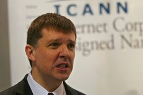ICANN CEO Paul Twomey attends the World Summit on the Internet Society in Tunisia
