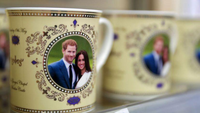 royal wedding mugs, Meghan Markle, Prince Harry