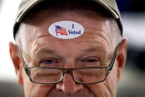 Voting makes people feel good.