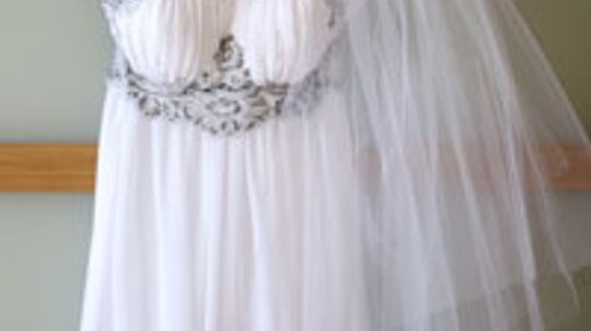 How -- and Why -- to Choose a Reception Dress