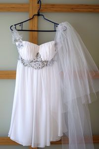 Image Gallery: Wedding Gowns If you wore a traditional gown to the ceremony, let loose a little with a flowy, Grecian-inspired reception dress.