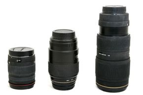 A serious photographer may have several lenses and camera bodies for any given number of scenarios.