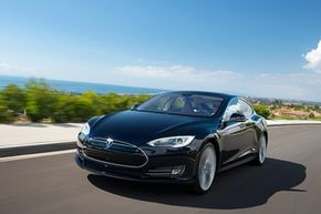 """The Model S is an all-electric sedan that Tesla Motors says """"sets a new standard for premium performance."""""""