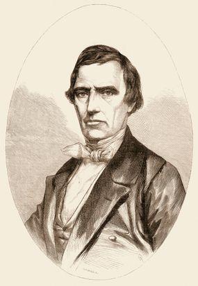 william rufus devane king portrait illustration