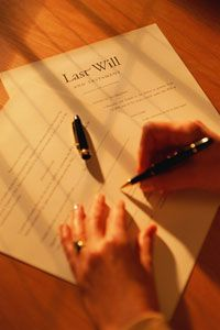 Your signature on your will is very important.
