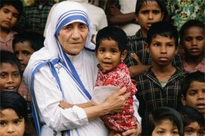 """Mother Teresa snagged her peace prize in 1979 for tirelessly working to help children and refugees. You know who never got one? Mahatma Gandhi aka the """"missing laureate."""""""