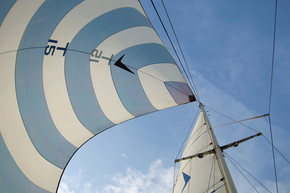 Sails capture the energy of wind better than any other human design.