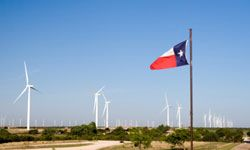 """Maybe they should call it the """"Wind Star State."""" Texas leads the way in wind power installations in the U.S."""