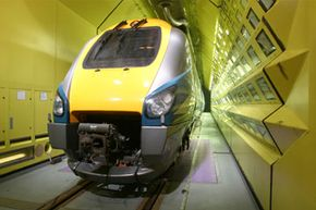 The Vienna Climactic Tunnel lets engineers expose test subjects to extreme temperatures. It's one of the only tunnels in the world that can accommodate full-size rail cars.