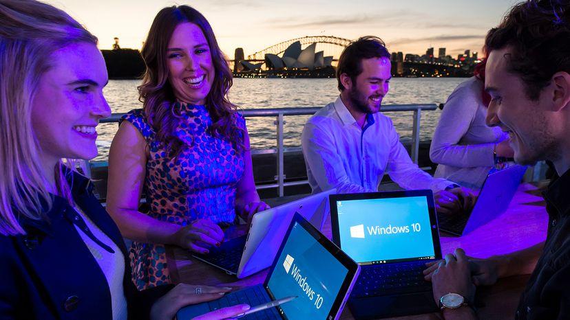 People using Windows 10