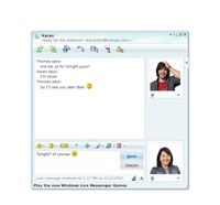 Microsoft Live Messenger is one of the most popular messenging programs.