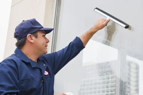 If professional window cleaners use squeegees, doesn't it make sense for you to use one, too?